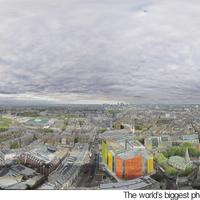 A világ legnagyobb  felbontású körpanorámás fotója (London)