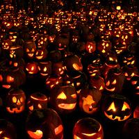 Halloween-i fény show