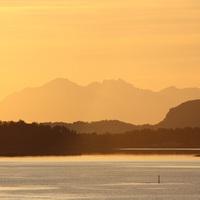 Éjféli napsütés Norvégiában