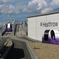 Utazókapszulák a londoni Heathrow repölőtéren