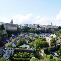Luxembourg, a festői szépségű főváros