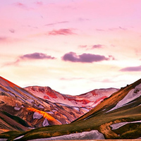 Éjféli nap Izlandon
