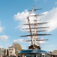Cutty Sark, a világ leghíresebb teaszállító hajója