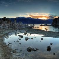 Mono-tó - a tufatornyok tava