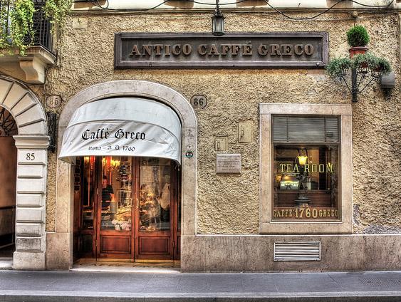 Antico Caffé Greco, Róma Olaszország.jpg