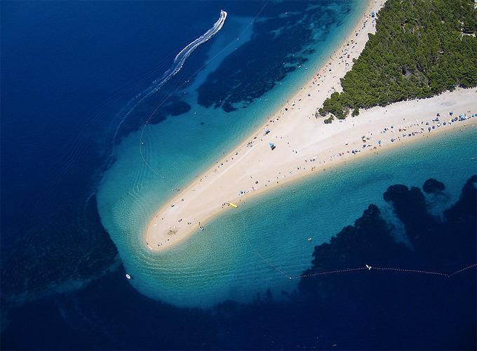 Zlatni Rat Arany Szarv Bol,Brač-sziget,Horvátország.jpg