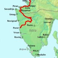 A Parenzana kerékpár út