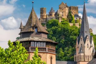 Oberwesel - A tornyok és a bor városa