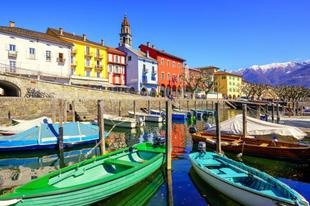 Ascona - idilli romantika a Lago Maggiore északi partján
