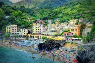 Monterosso al Mare - festői kisváros a Ligur-tenger partján