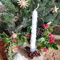 Karácsonyi sírdísz házilag