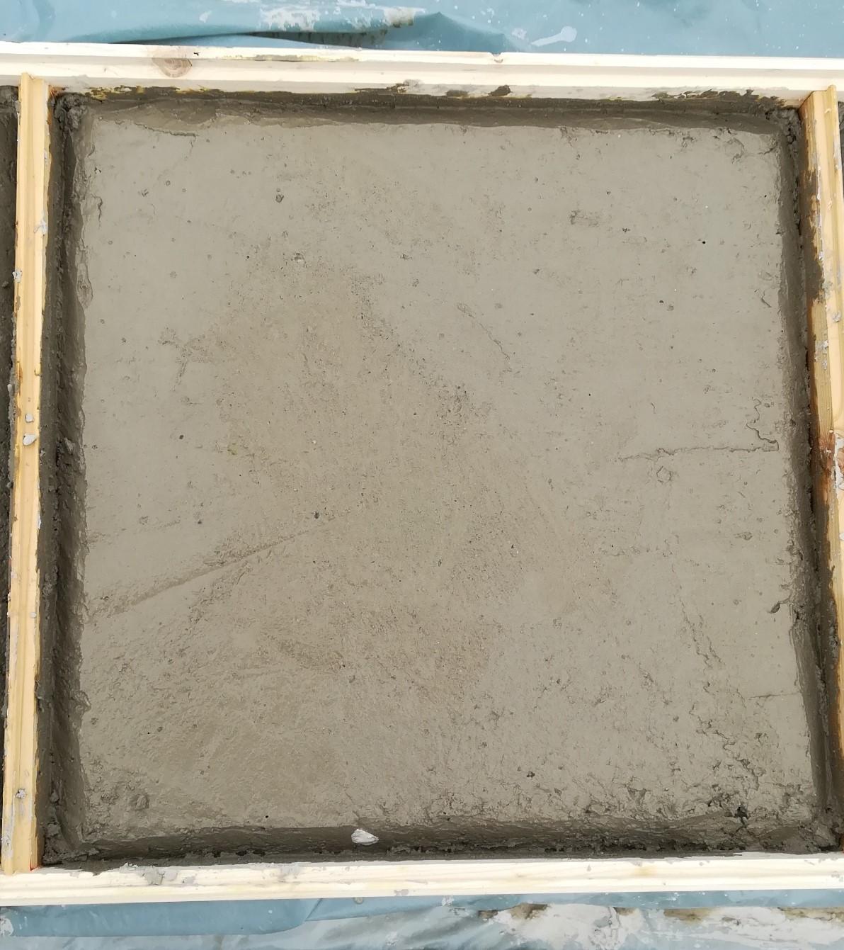 Emlékkocka betonból