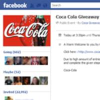 Facebook átverés: 24 doboznyi ajándék Coca Cola – hamis rendezvénnyel