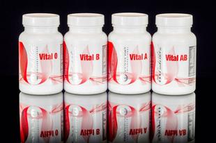 Egészségmegőrzés vércsoportra szabott multivitaminokkal.