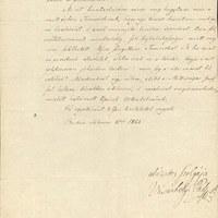 Vásárhelyi Pál levele Széchenyi Istvánnak