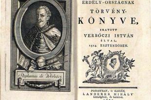"""A középkori Magyarország vízjogi rendelkezései Werbőczy """"Hármaskönyv"""" című  munkájában"""
