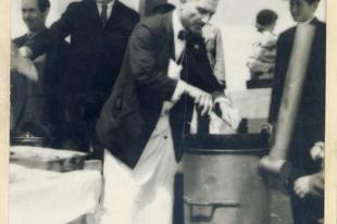 Borz Kálmán halászmester meglepetése 1931 karácsonyára