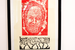 Kántor János kiállításának megnyitója
