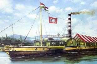 Franz I. – Az első rendszeresen közlekedő dunai gőzhajó