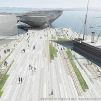 Dundee Waterfront: V&A, a vízen lebegő múzeum