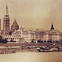 Szegedi vízpart - A tiszai csönd