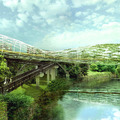 Színváltós híd lesz az új angol jelkép?