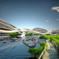 Bangkoki Wetropolis: egy újabb úszó város elképzelés