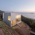 Minimalista vízparti ház chilei módra
