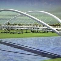 Szolnoki vízpart - Egy nem tiszavirág életű híd