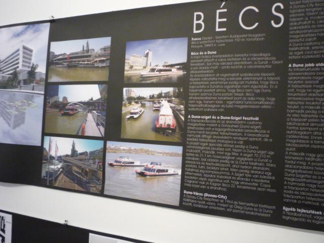 Vízparti fejlesztések kiállítás - Bécs