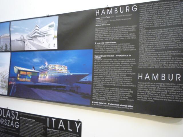 Vízparti fejlesztések kiállítás - Hamburg