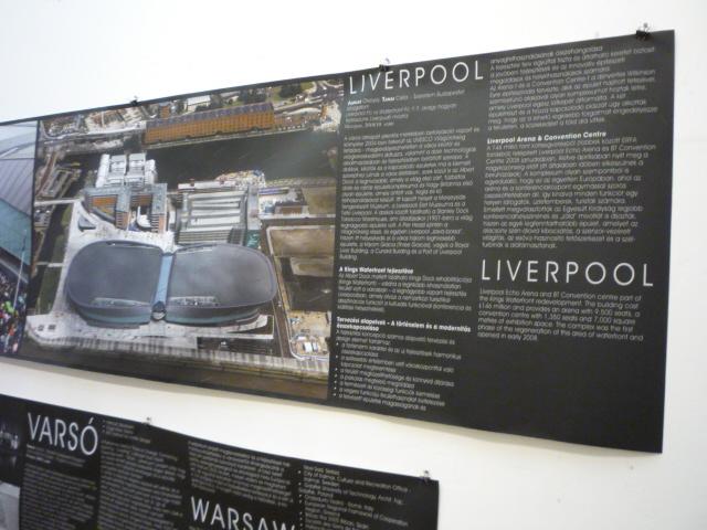 Vízparti fejlesztések kiállítás - Liverpool