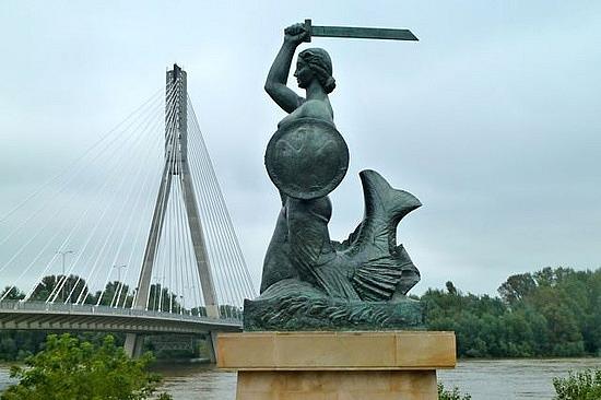Sawa, Varsó védőszentje
