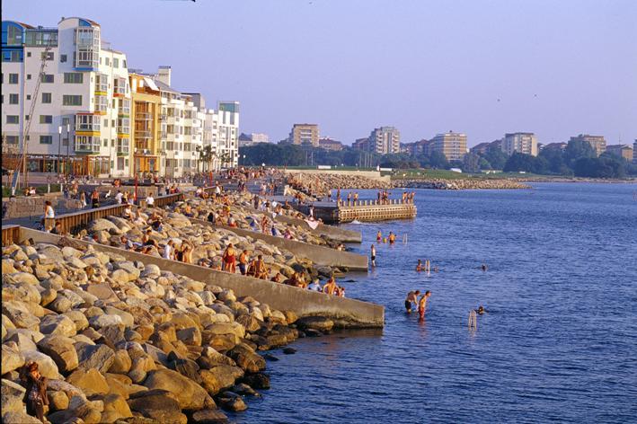 Malmö Waterfront - A vízparti sétány mindenkié