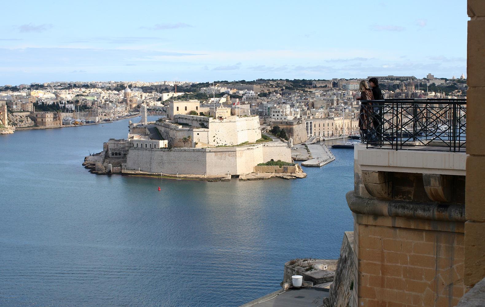 Birgu, az egyik legrégebbi máltai város