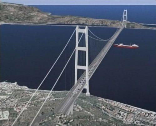 A Ponte di Messina látványterve