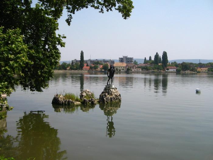 Keresztelő Szent János szobra - Tata