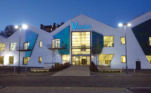A Vision irodaház épülete