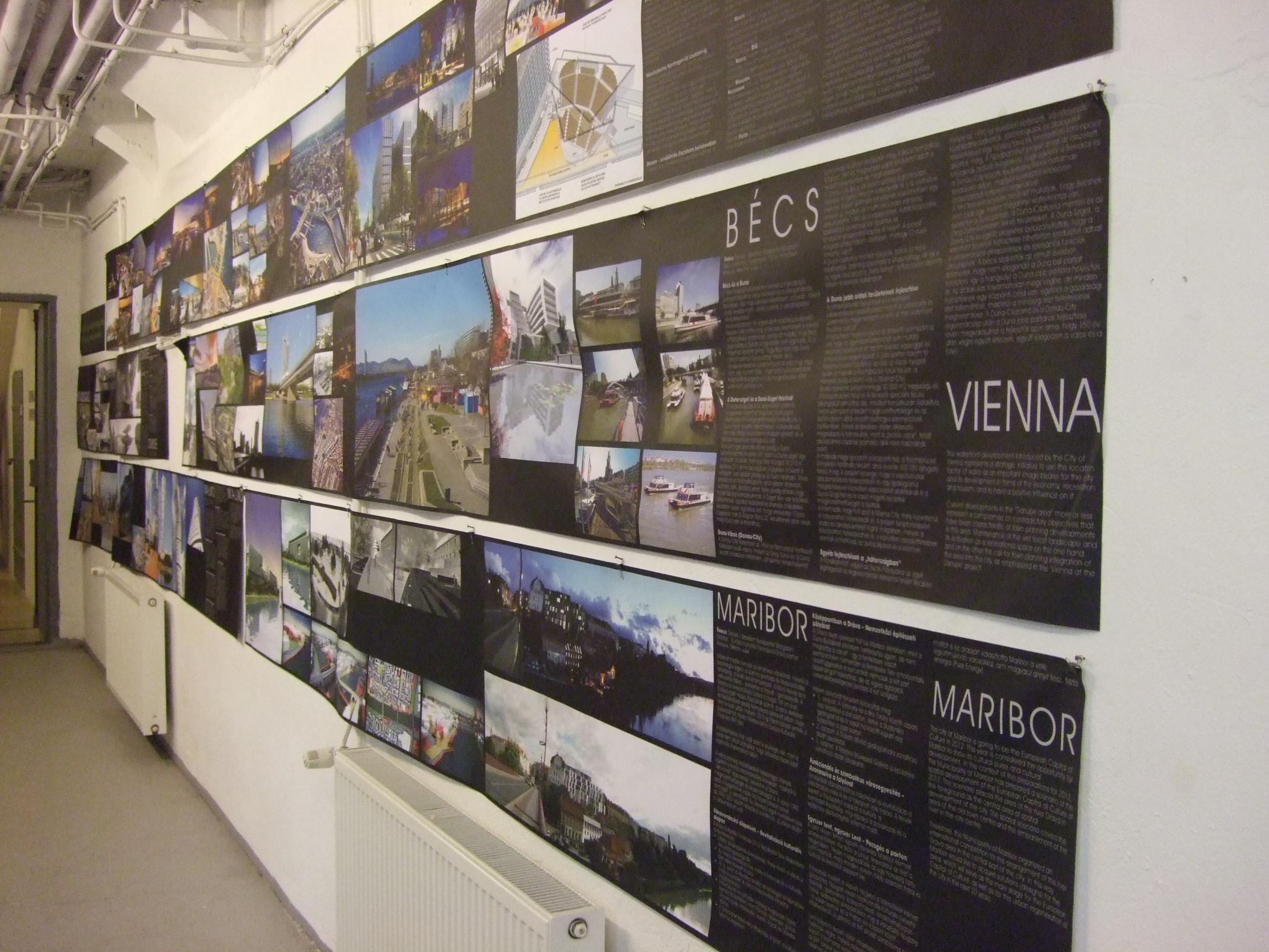 Vízparti fejlesztések - Bécs és Maribor