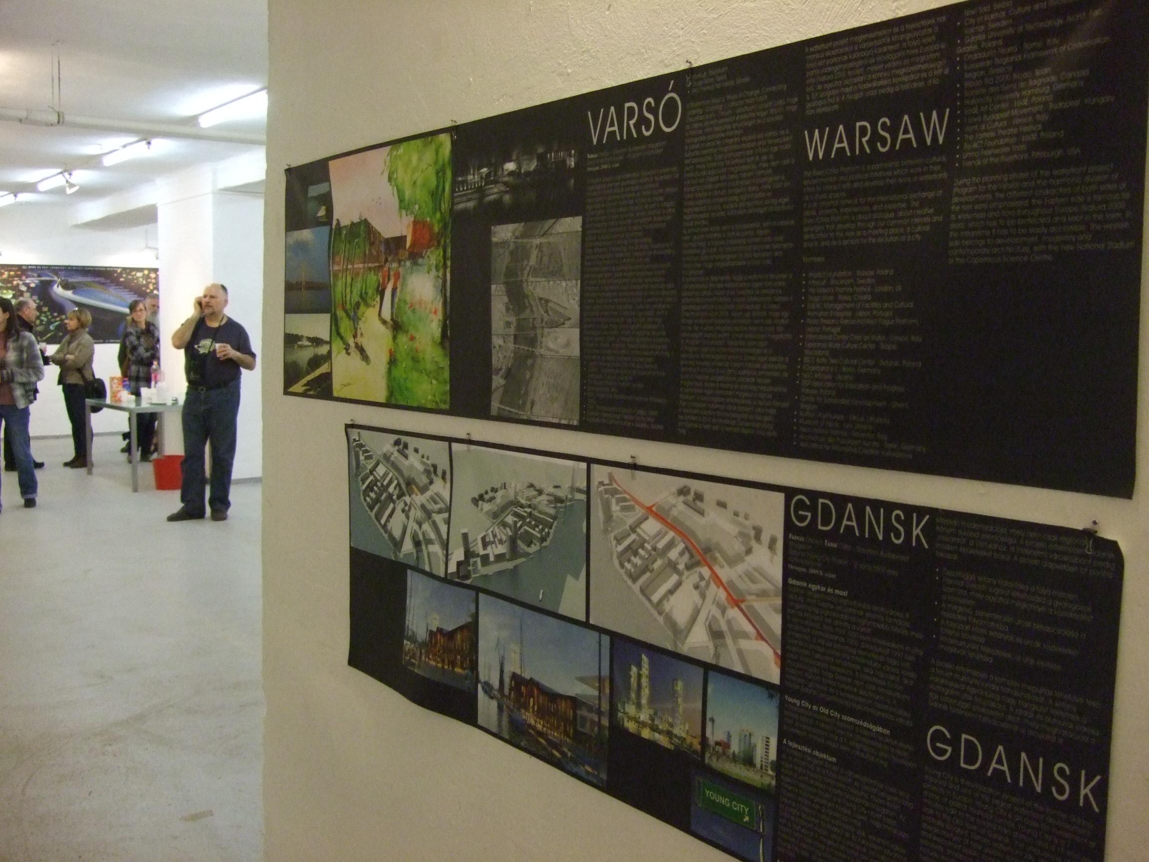 Vízparti fejlesztések - Gdansk és Varsó