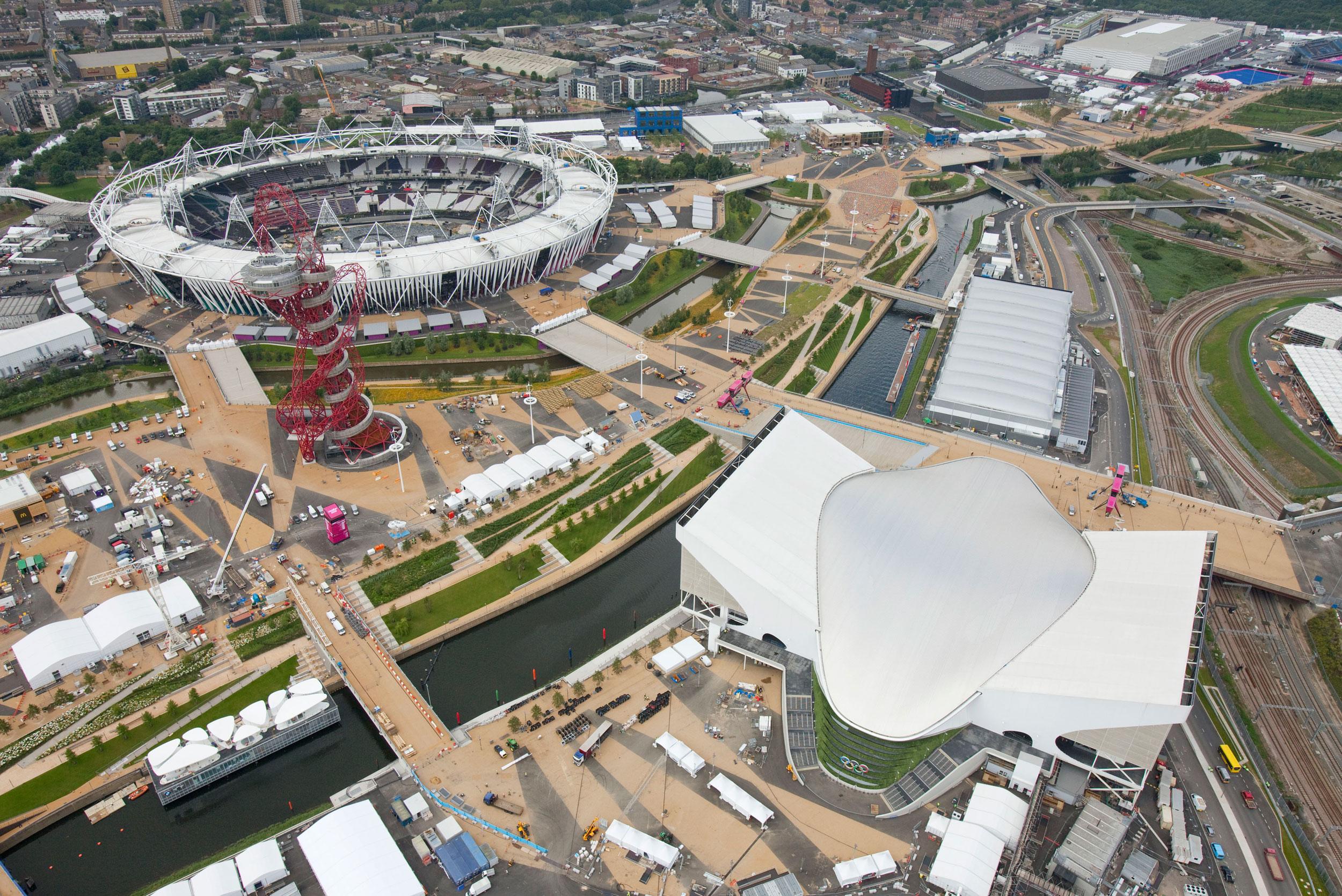 Az Olimpiai Stadion és a Vizesközpont