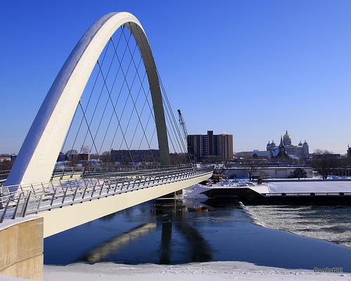 Central Street Bridge, Des Moines