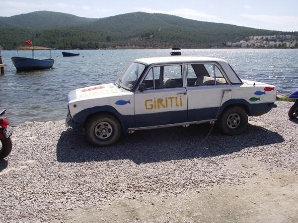 Giritli, Törökország - A sofőrszolgálat