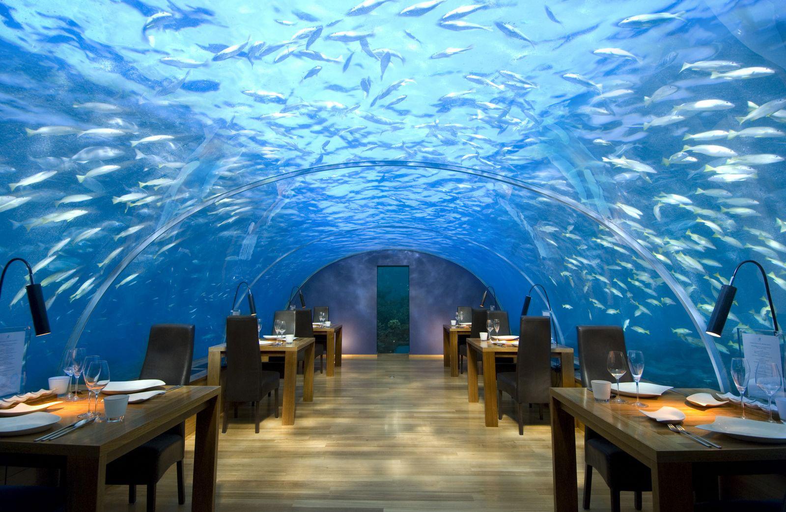 Ithaa víz alatti étterem, Maldív-szigetek