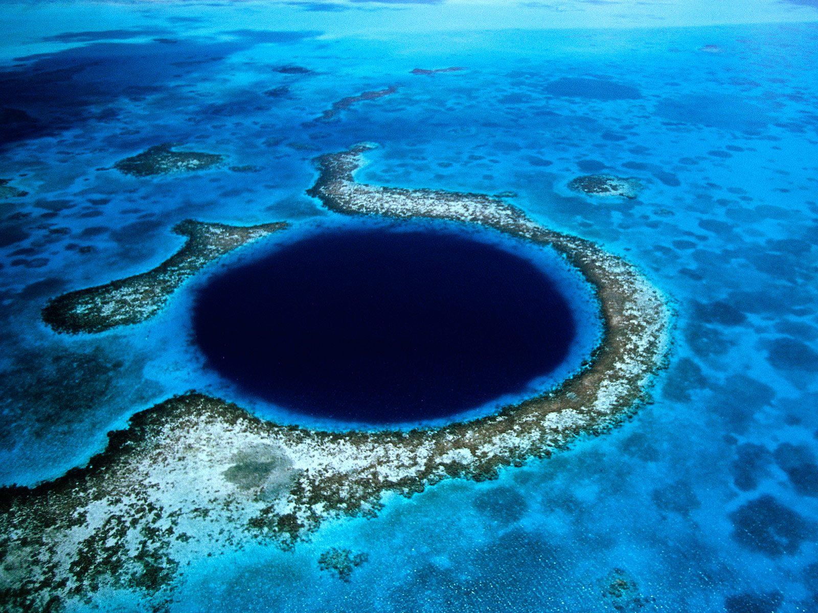 A Kék Lyuk Belize-ben