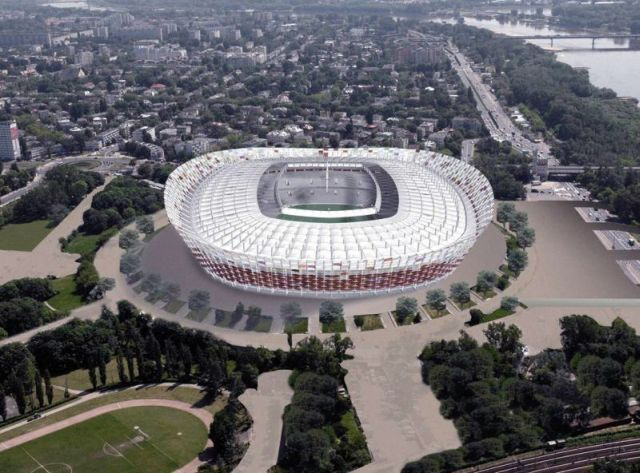 A Nemzeti Stadion látványtervei