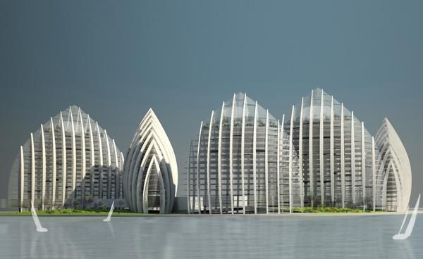 Modern épületek ősi hagyományokkal