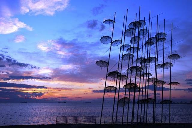 Esernyők - Szaloniki