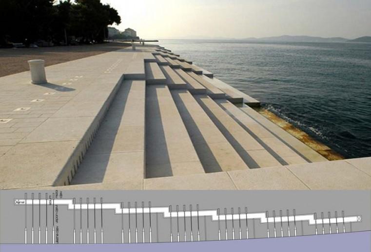 Tengeri orgona Zadarban