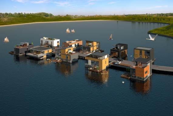 Watervillas de Groote Wielen